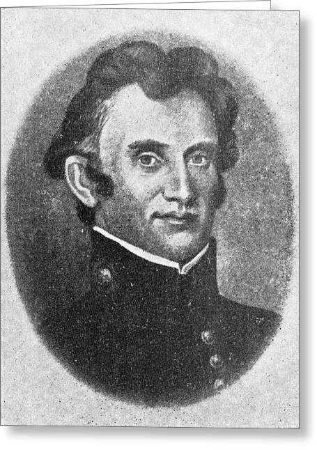 William Beaumont Greeting Card by Library Of Congress
