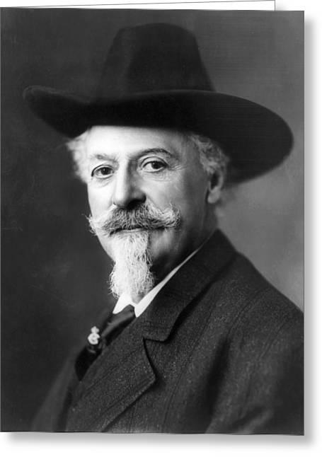 Buffalo Bill Cody Greeting Cards - William Cody Greeting Card by Unknow
