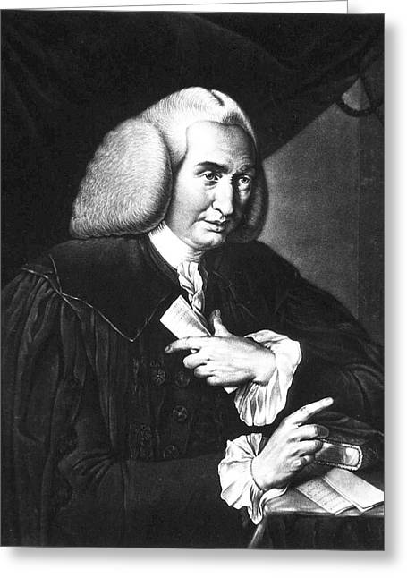 William Cullen Greeting Card by National Library Of Medicine