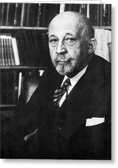 William E. B. Dubois Greeting Card by Underwood Archives