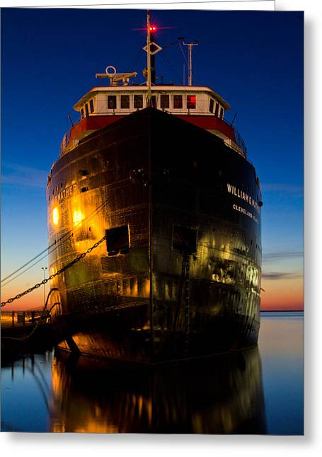John Mcgraw Photography Greeting Cards - William G. Mather Maritime Museum Cleveland Ohio Greeting Card by John McGraw