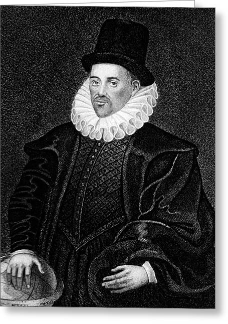 William Gilbert Greeting Card by National Library Of Medicine