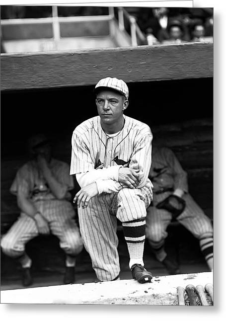 Dugout Greeting Cards - William H. Billy Southworth Greeting Card by Retro Images Archive