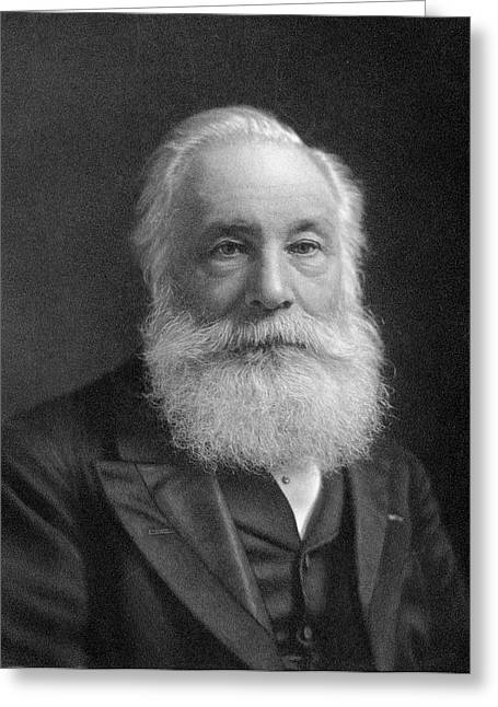 William Henry Perkin Greeting Card by Chemical Heritage Foundation
