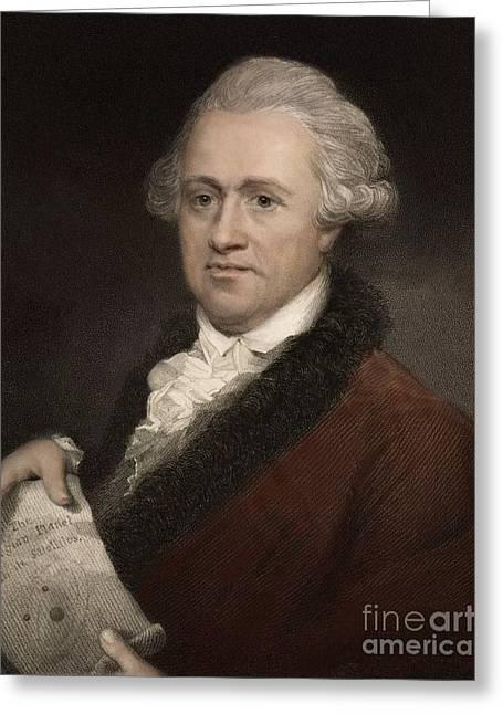 Binary Stars Greeting Cards - William Herschel, German-british Greeting Card by Paul D. Stewart