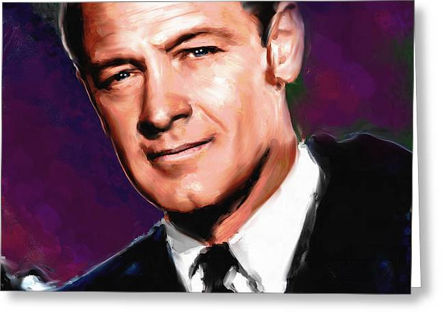 William Holden Greeting Card by Allen Glass