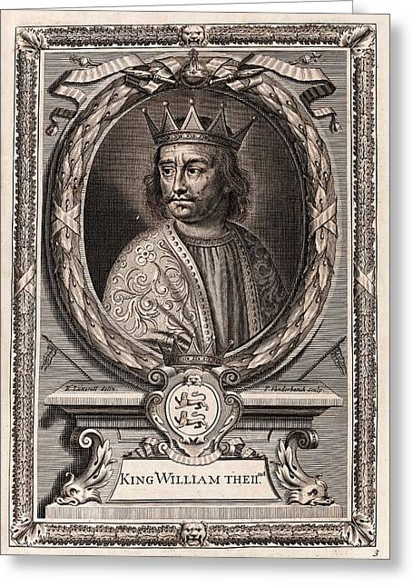 William II Greeting Card by Middle Temple Library