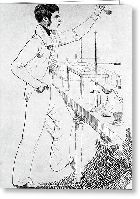 William O'shaughnessy Greeting Card by National Library Of Medicine