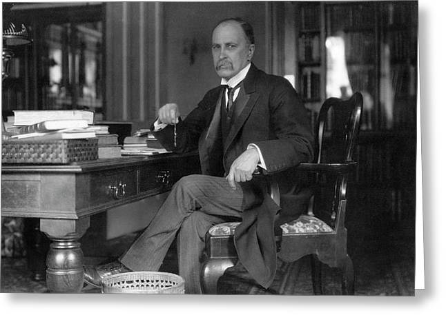William Osler At Oxford University Greeting Card by National Library Of Medicine