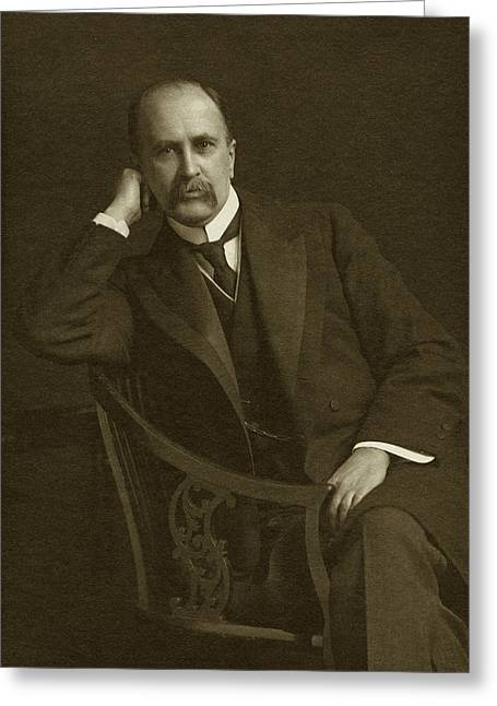 William Osler Greeting Card by National Library Of Medicine