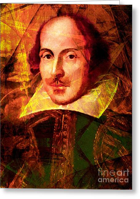 Othello Greeting Cards - William Shakespeare 20140122 Greeting Card by Wingsdomain Art and Photography