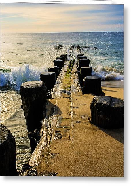 Jerseyshore Greeting Cards - William Terlecki 10 Greeting Card by Bill Terlecki