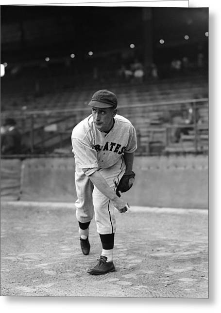 Pittsburgh Pirates Photographs Greeting Cards - William Vincent Bill Swift Greeting Card by Retro Images Archive