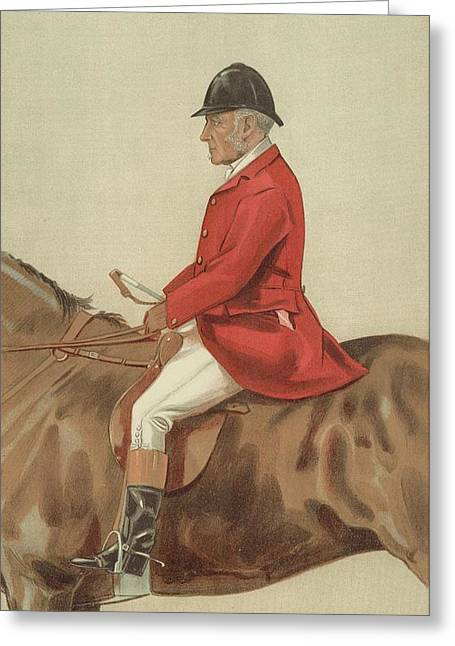 Vanity Fair Greeting Cards - William Ward Tailby Greeting Card by Sir Samuel Luke Fildes