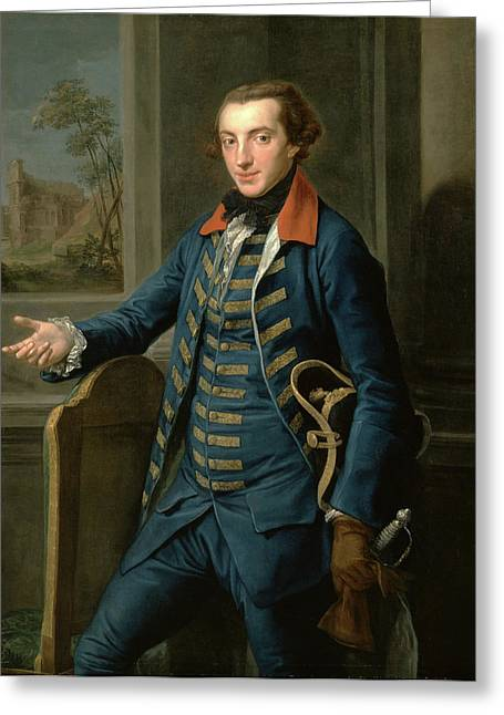 William Weddell, Pompeo Batoni, 1708-1787 Greeting Card by Litz Collection