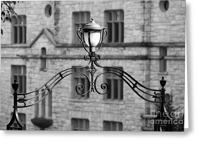 Williams College Hopkins Gate Greeting Card by University Icons