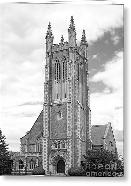 Williams Greeting Cards - Williams College Thompson Memorial Chapel Greeting Card by University Icons