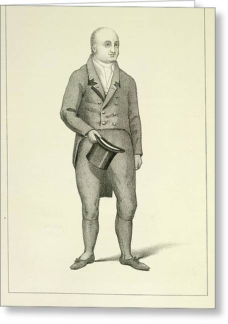 Willliam Bullock Greeting Card by British Library