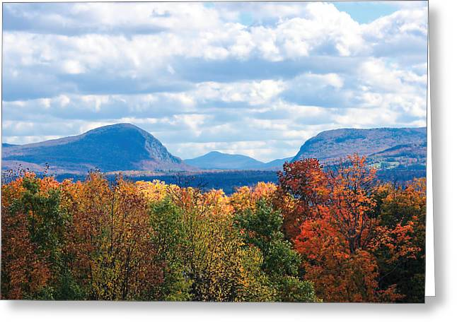 Charlotte Vermont Greeting Cards - Willoughby Lake Vermont Greeting Card by William Alexander