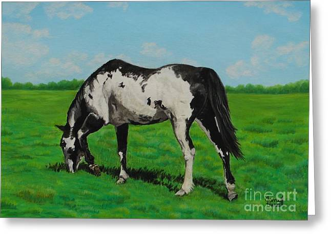 Paint Pastels Greeting Cards - Willow Greeting Card by Jane Hazell