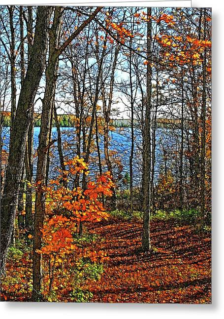 Willow Lake Greeting Cards - Willow Lake Greeting Card by Bill Morgenstern