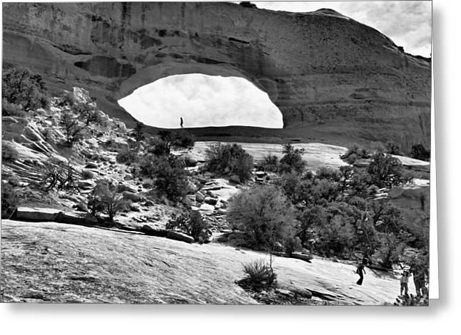 Southern Utah Greeting Cards - Wilson Arch Greeting Card by Silvio Ligutti