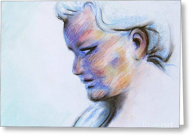 Soft Light Pastels Greeting Cards - Wind Mother Greeting Card by Samantha Geernaert
