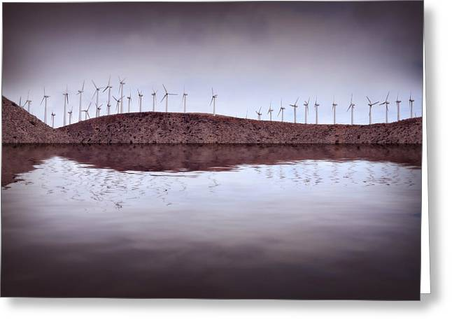 Generators Greeting Cards - Wind on the Water Greeting Card by Brian Enright