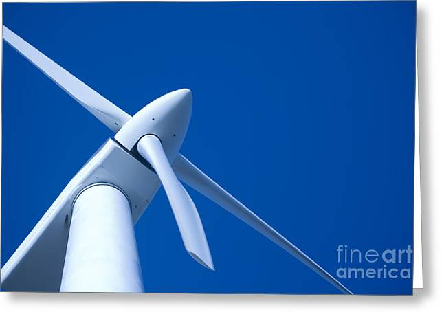 Western Australia Greeting Cards - Wind Turbine Tungsten Greeting Card by Colin and Linda McKie