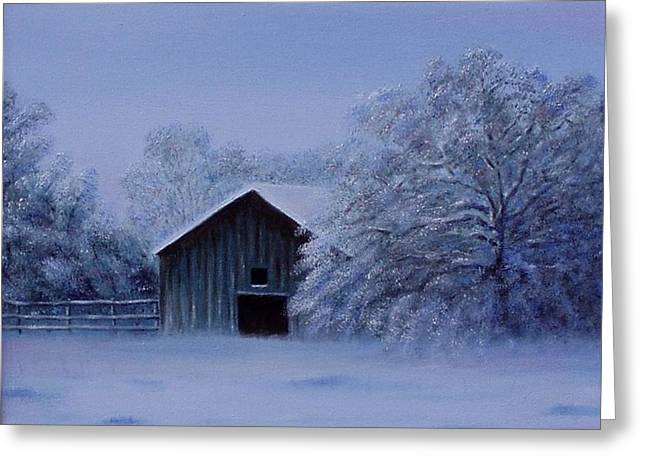 Gene Gregory Greeting Cards - Windberg Barn Greeting Card by Gene Gregory