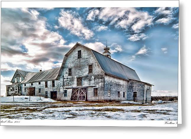 Maine Farms Greeting Cards - Windham Vacancy Greeting Card by Richard Bean