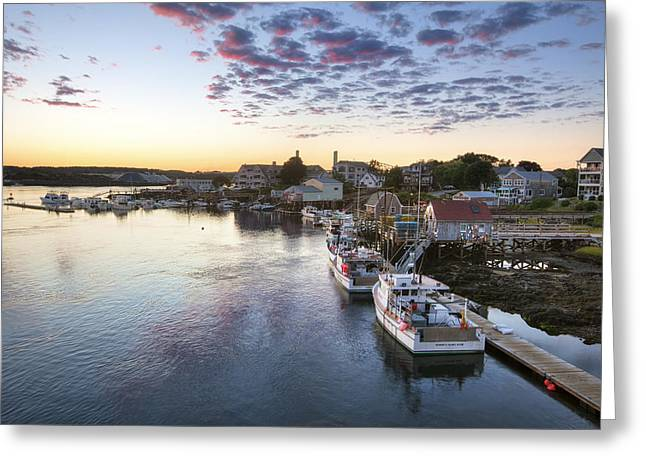 Lobster Shack Greeting Cards - Winding Down Greeting Card by Eric Gendron