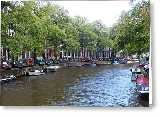 Amsterdam Greeting Cards - Winding Way Greeting Card by Mike Podhorzer