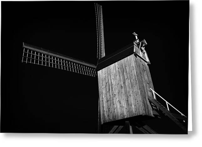 Generators Greeting Cards - Windmill Greeting Card by TouTouke A Y