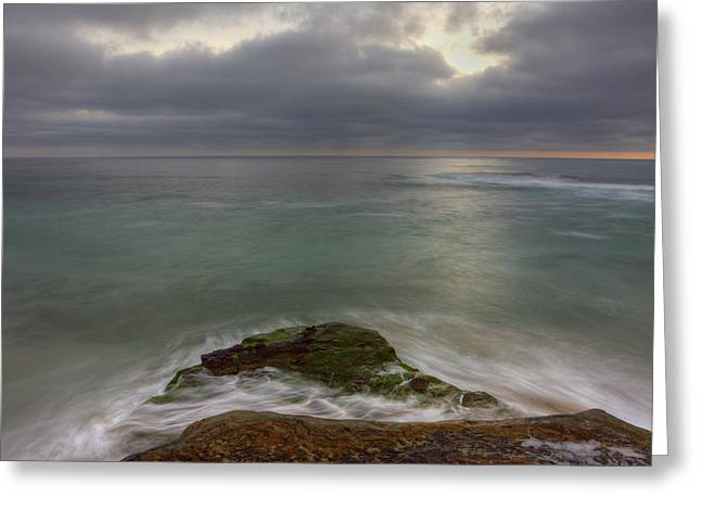 California Beach Greeting Cards - WindNsea Point SQ Greeting Card by Peter Tellone