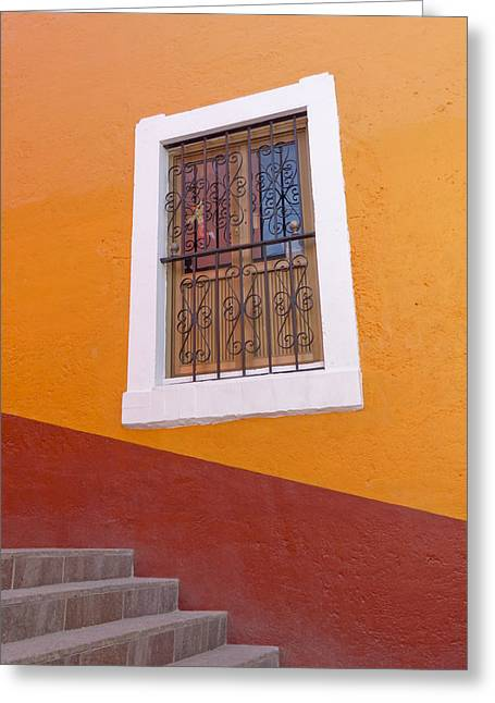 Window 1 Greeting Card by Douglas J Fisher