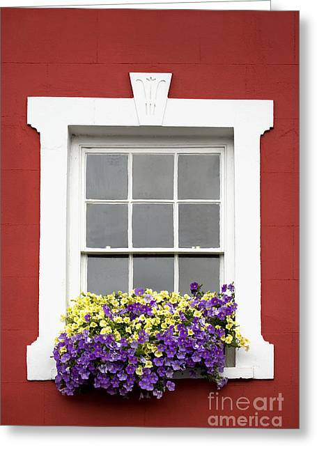 Lounge Digital Art Greeting Cards - Window and Walls Triptych - Canvas 2 Greeting Card by Natalie Kinnear