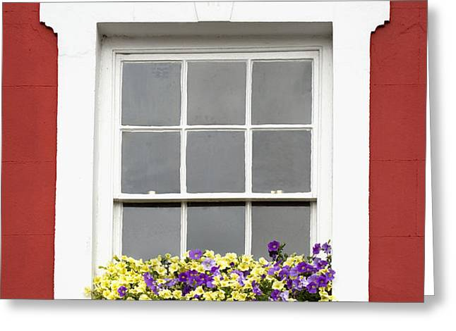 Window and Walls Triptych - Canvas 2 Greeting Card by Natalie Kinnear