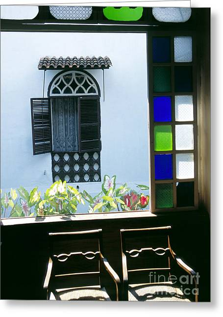 Conservative Greeting Cards - Window and Window Greeting Card by Ladi  Kirn