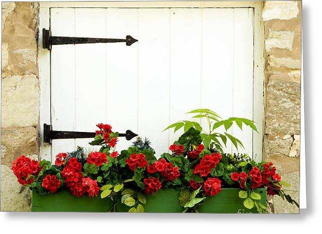 Grist Mill Greeting Cards - Window Box 2 Greeting Card by Paul W Faust -  Impressions of Light