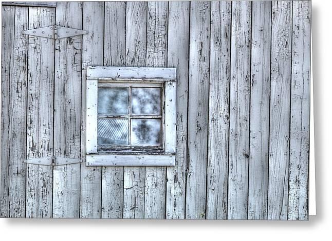 Window Greeting Card by Juli Scalzi