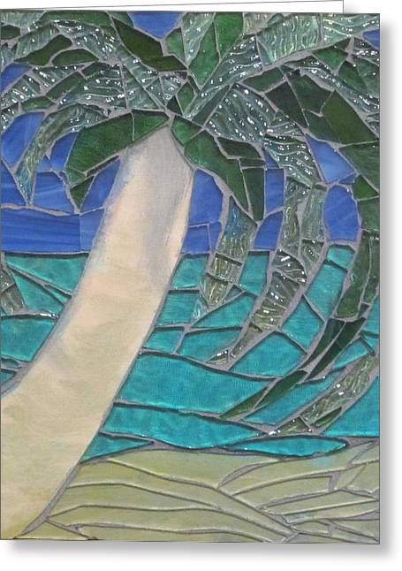 Sand Glass Greeting Cards - Window Greeting Card by Kelly Christopher