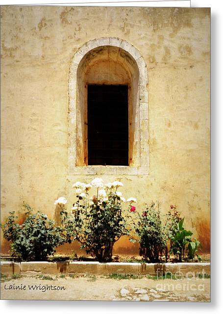 Lainie Wrightson Greeting Cards - Window of Arkadi Greeting Card by Lainie Wrightson