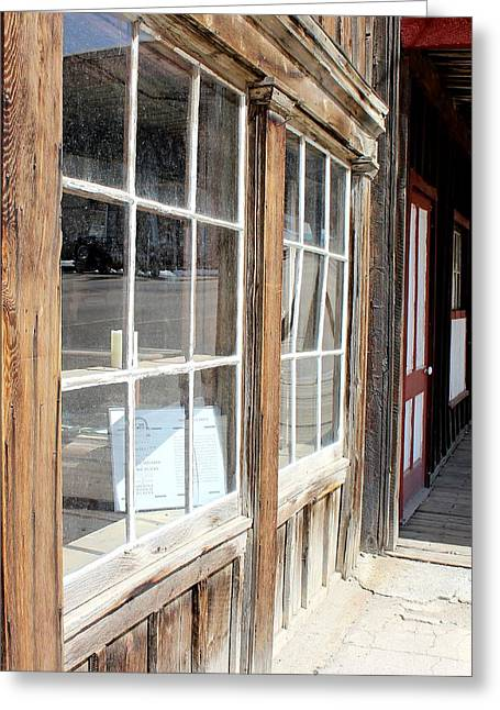 Historic Country Store Greeting Cards - Window Shopping Greeting Card by Mark Eisenbeil