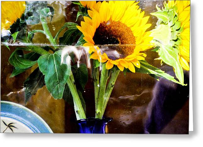 Window Still Life Greeting Card by James Black