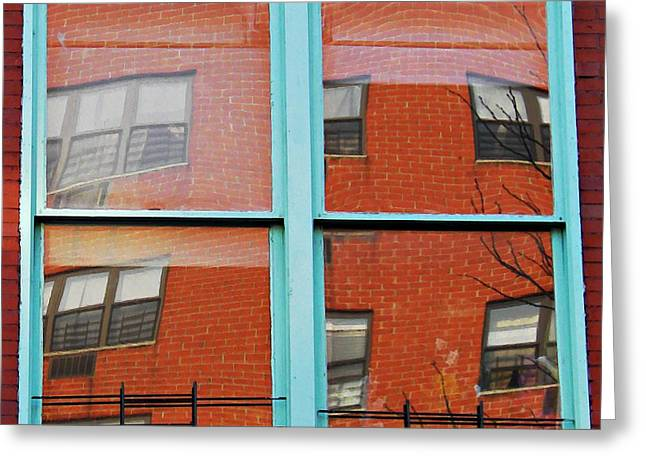 Sarah Loft Photographs Greeting Cards - Windows in the Heights Greeting Card by Sarah Loft