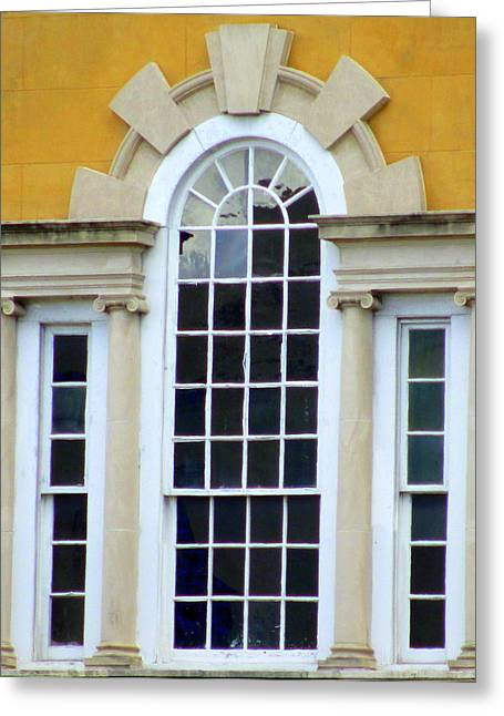 Historic Architecture Greeting Cards - Windows Of Charleston 3 Greeting Card by Randall Weidner