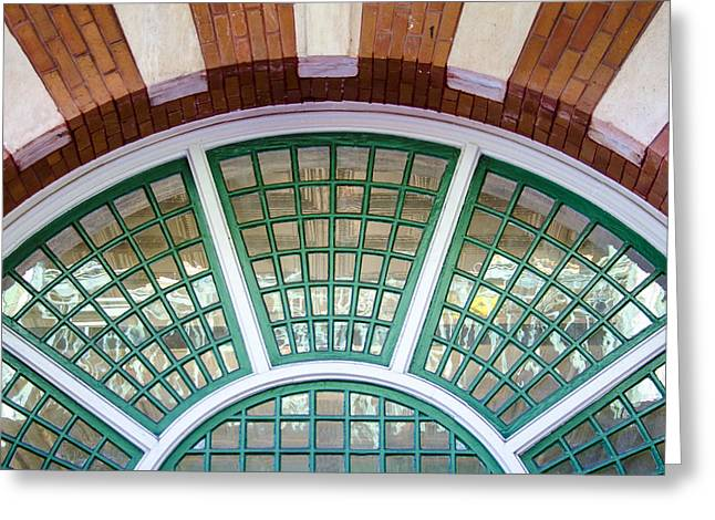 Florida Photography Greeting Cards - Windows of Ybor Greeting Card by Carolyn Marshall