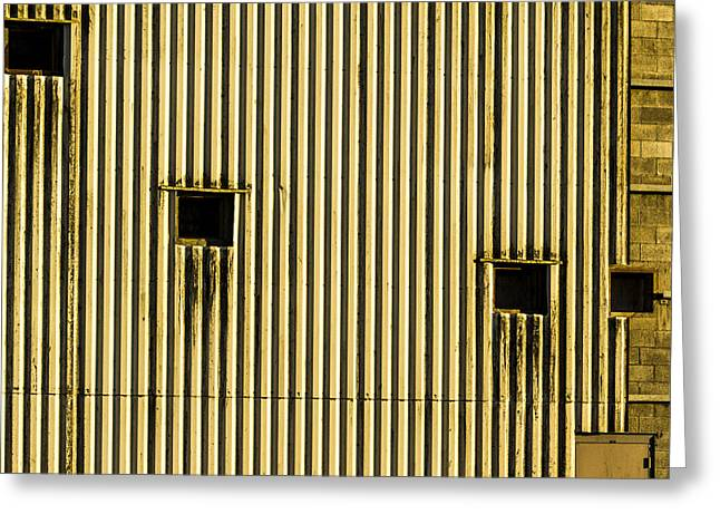 Abandonded Greeting Cards - Windows to Nothing Greeting Card by Jean Noren
