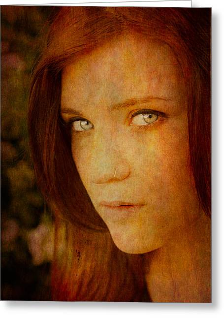 Windows To The Soul Greeting Card by Loriental Photography
